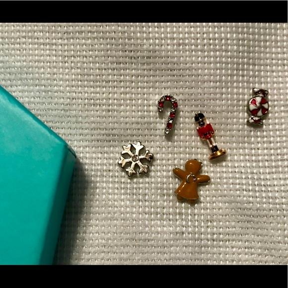 Origami Owl Jewelry Christmas Charms Poshmark